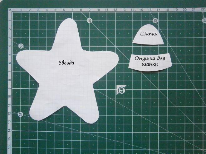 Как сделать звезду на елку своими руками?