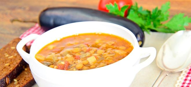 Чечевичный суп - постный рецепт