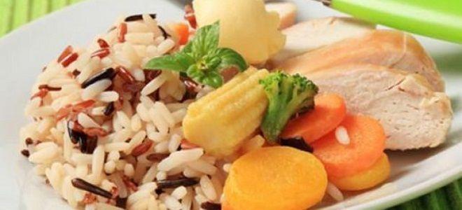 цветная капуста с рисом в пароварке рецепт