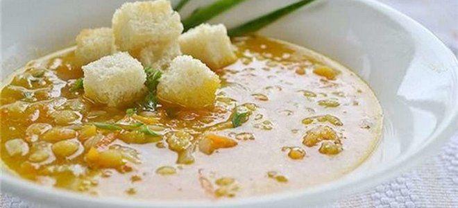 гороховый суп на курином бульоне рецепт