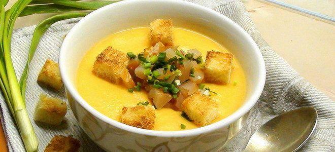 гороховый суп пюре с курицей рецепт