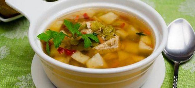 гороховый суп с сельдереем рецепт