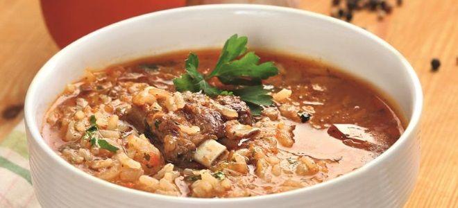 харчо суп из баранины рецепт