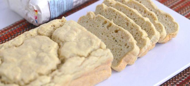 Хлеб в хлебопечке без дрожжей на кефире