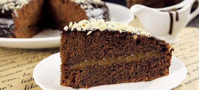 Как испечь постный торт
