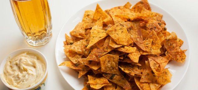 Как сделать чипсы из лаваша в микроволновке