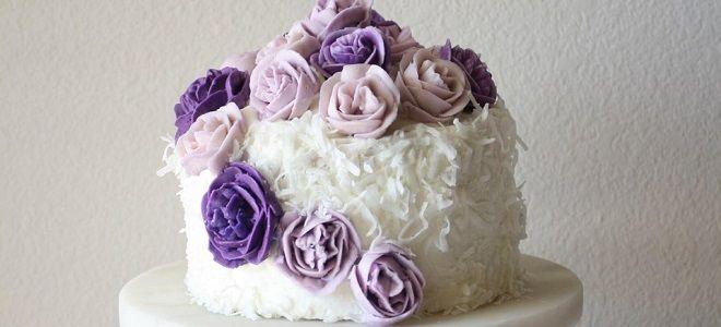 Как украсить торт для мамы