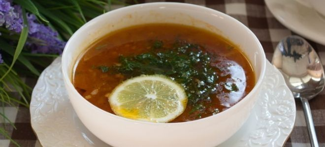 классическая мясная солянка рецепт