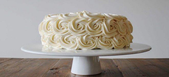 Кремовый торт для девочки