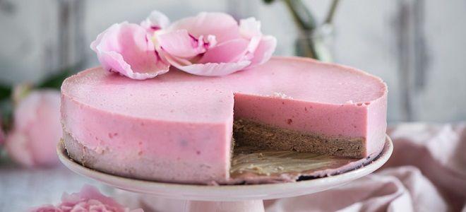 Муссовый торт для девочки