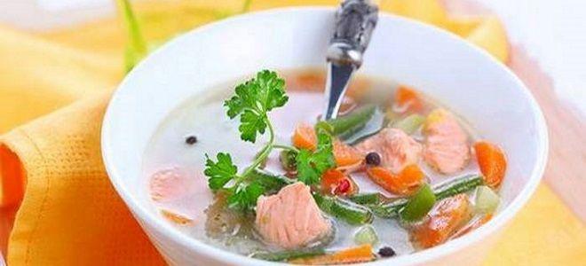 норвежский суп с горбушей