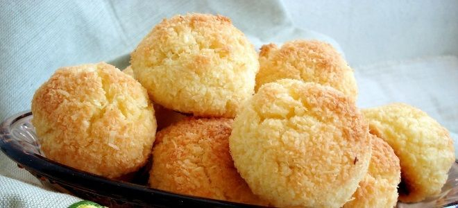Печенье «Кокосанка» в домашних условиях