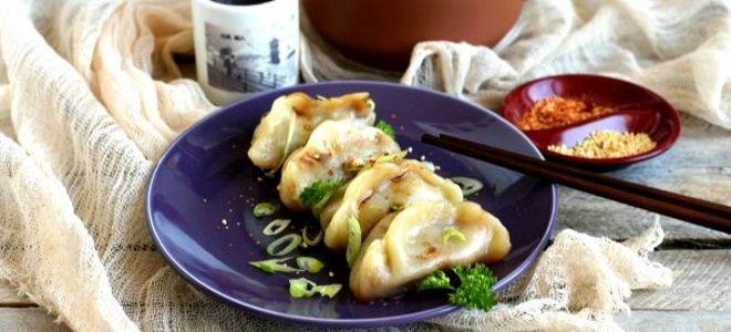 пельмени с креветками по китайски рецепт