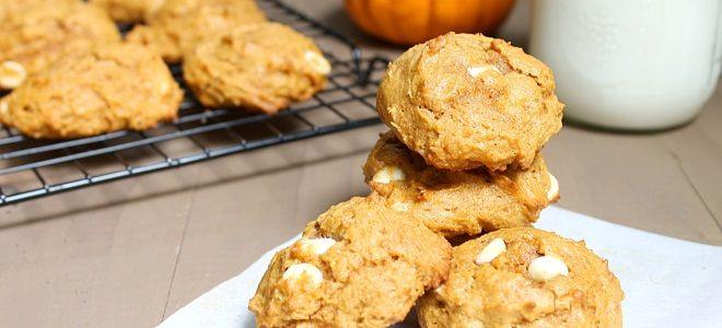 Постное печенье с тыквой - рецепт