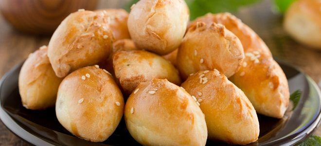 постные пирожки с сырой картошкой в духовке