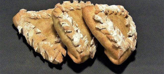 постные ржаные пирожки с картошкой