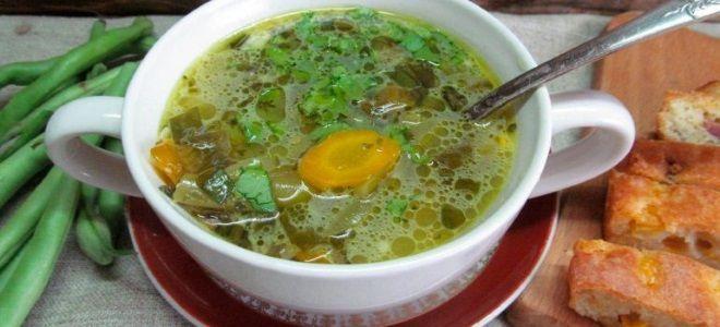 Постный щавелевый суп - рецепт