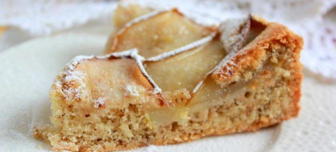 Постный сладкий пирог - рецепт