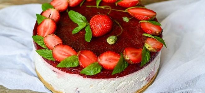 праздничный торт из творога