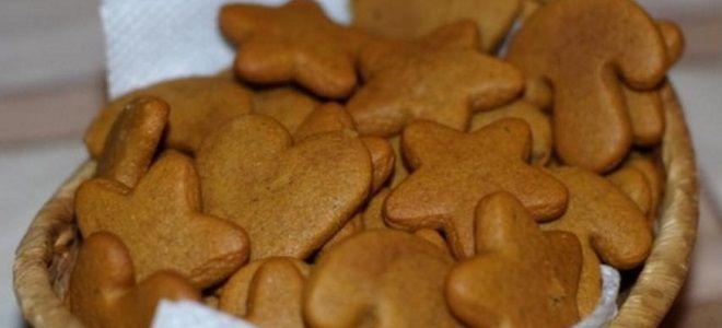 Рецепт имбирного печенья в домашних