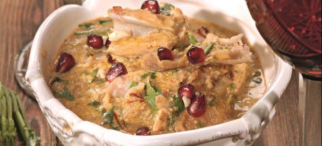 рецепт сациви с курицей по грузински