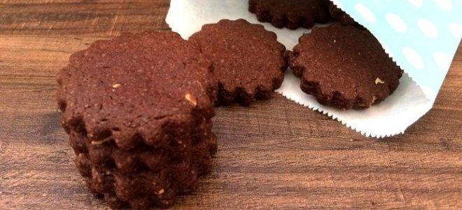 Рецепт шоколадного печенья в домашних условиях