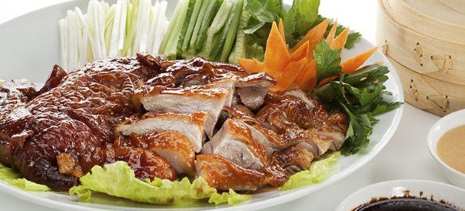 рецепт утки по пекински в духовке целиком
