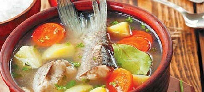 рыбный суп из головы и хвоста горбуши