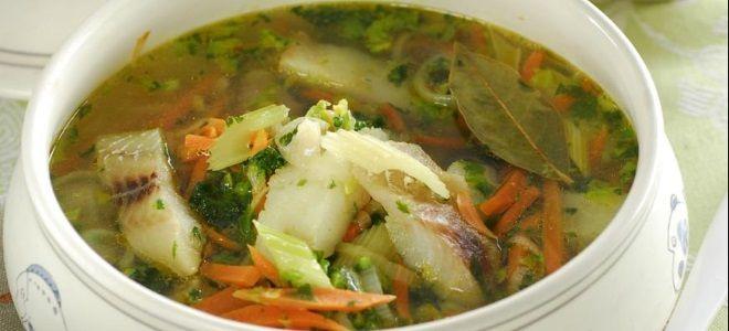 рыбный суп с сельдереем – рецепт