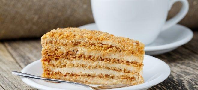 Самый вкусный медовый торт
