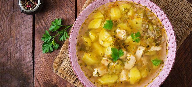суп гречневый с курицей рецепт