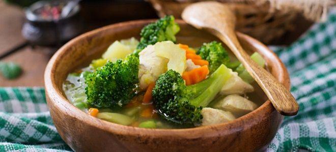 суп из брокколи и сельдерея – рецепт