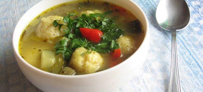 Суп с сырными шариками рецепт с курицей