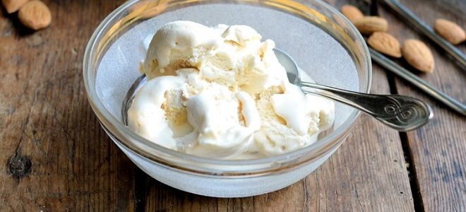 Сырное мороженое