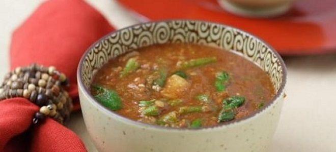 вегетарианский чечевичный суп рецепт