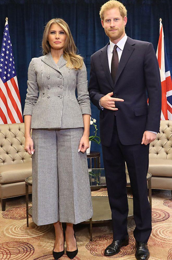 Мелания трамп и принц гарри