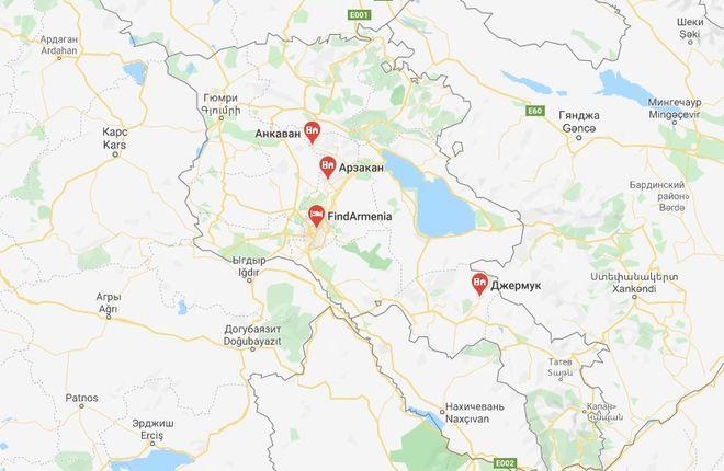 Горячие источники Армении