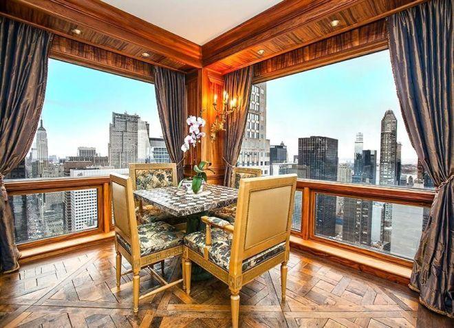 Апартаменты Роналду в Нью-Йорке