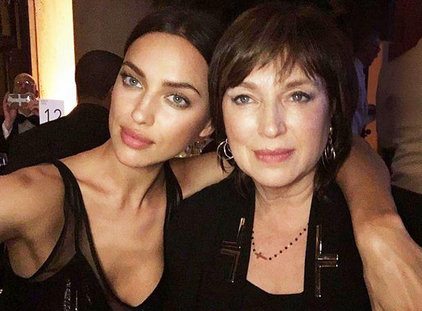 Ирина Шейк с мамой