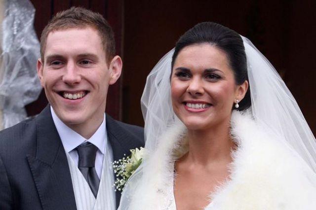 Микаэла МакАриви в день своей свадьбы