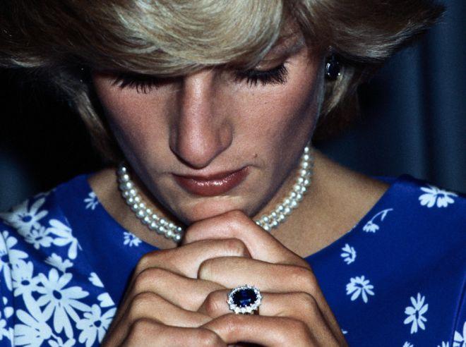 помолвочное кольцо принцессы Дианы