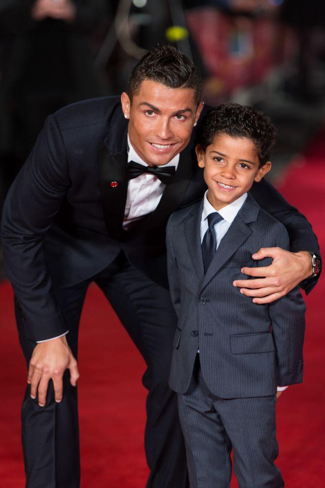 Роналду и его сын