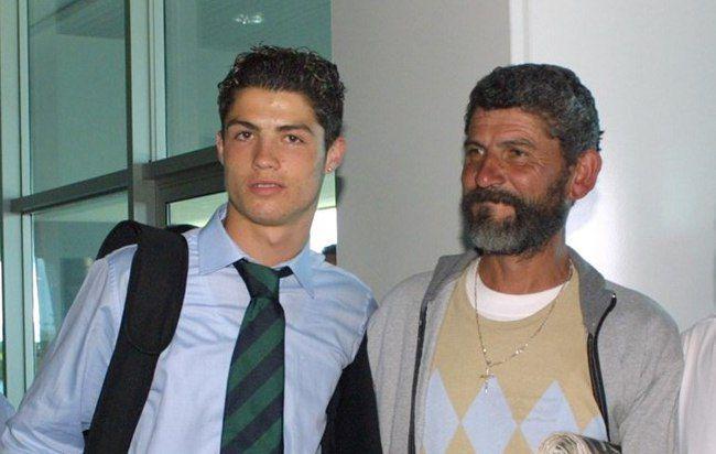Роналду с отцом