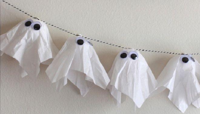 Гирлянда на хэллоуин 3
