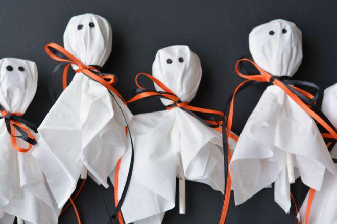 Привидения из чупа-чупсов