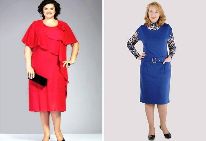 модные платья для 50 летних женщин 2017