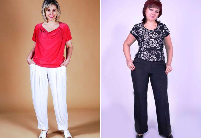 брюки 2017 для женщин после 50 лет