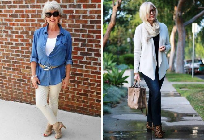 стиль 50 летней женщины 2017 год