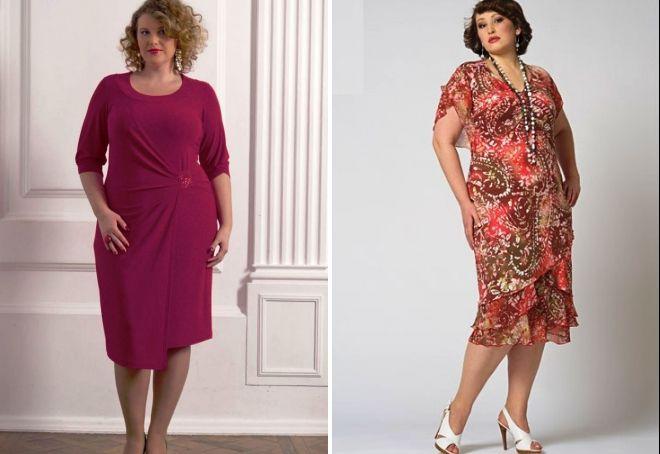 мода 2017 для полных женщин за 50