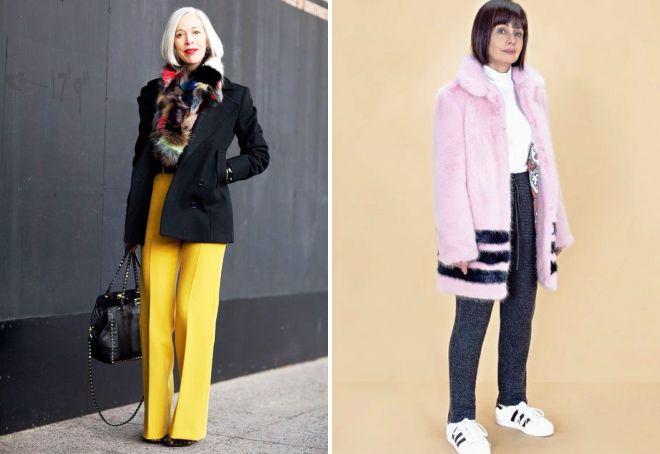 мода для 50 летних женщин 2017